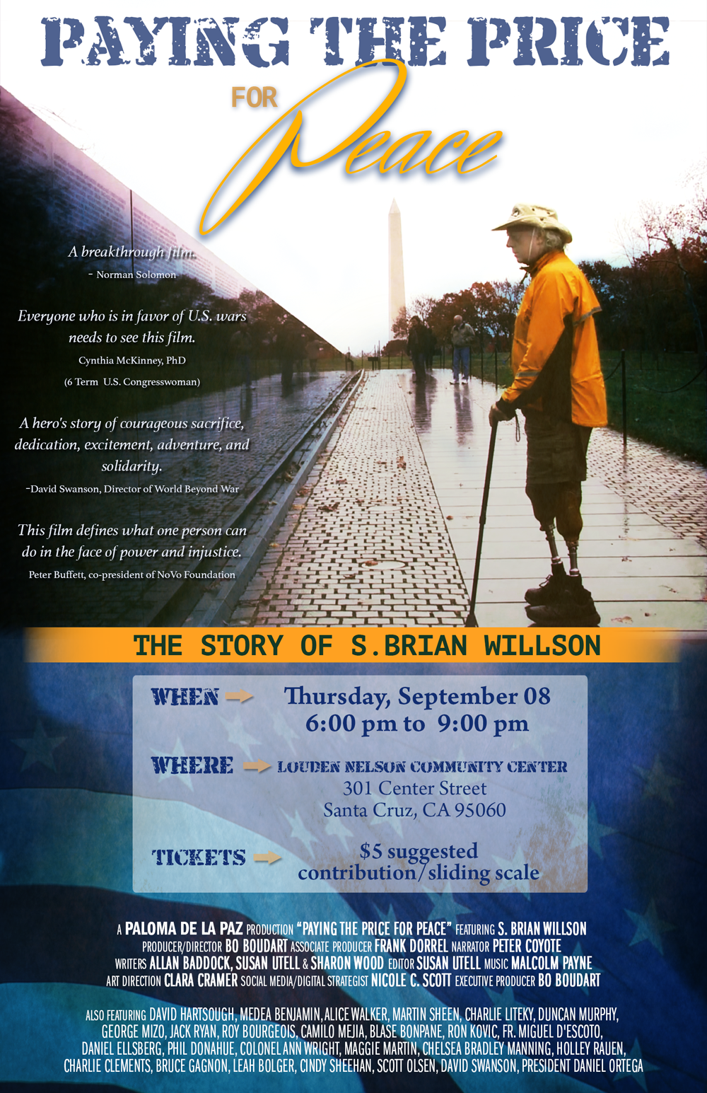 Santa Cruz Event Poster
