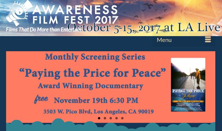 Awareness Fest Free Screening Nov 19 2017